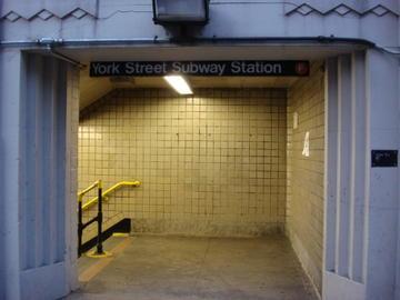 york st. station