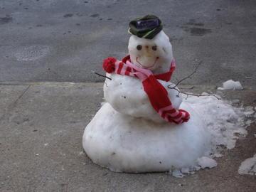 brooklyn snowman