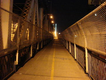 manhattan bridge footpath