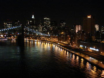 brooklyn bridge, & fdr drive