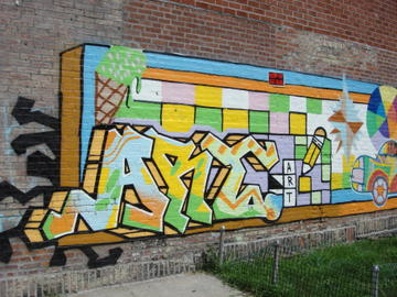 graffitti art
