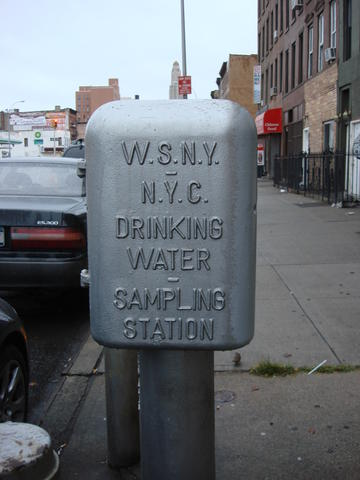 water supply sampling station