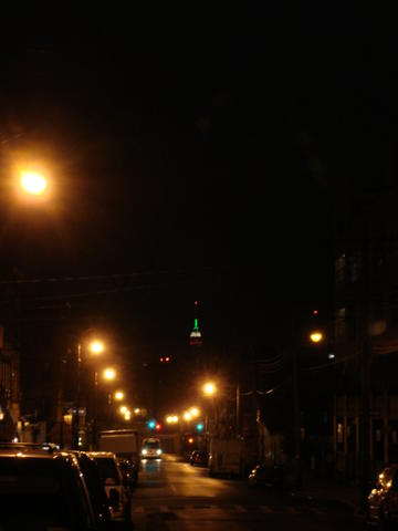 Empire State Building from Bushwick