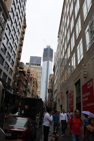 a tower rises again