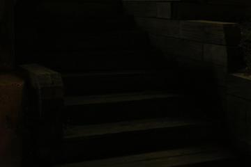 stairs noir