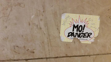 disclaimer: sticker contains 0% actual danger