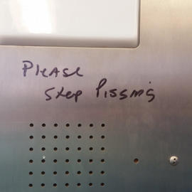 piss and the mta