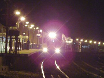 midnight train to nowhere.
