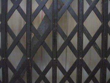 elevator gate.