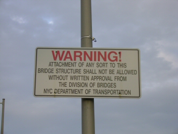 don't get attached to this bridge!