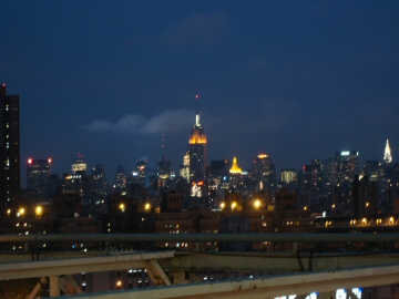 esb in front of clouds