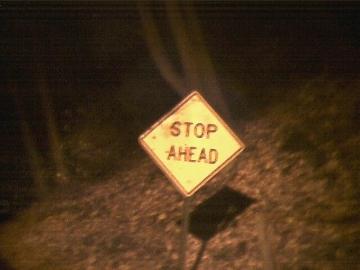 stop ahead